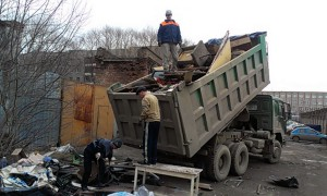 Вывоз крупногабаритного мусора